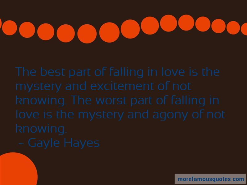 The Best Part Of Falling In Love Quotes