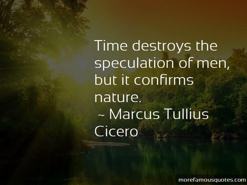 Time Destroys Quotes