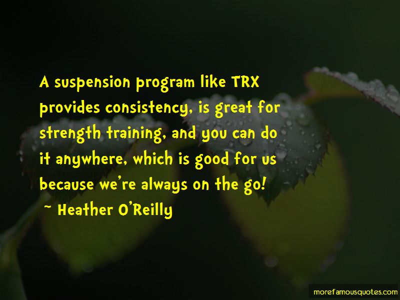 Trx Suspension Training Quotes