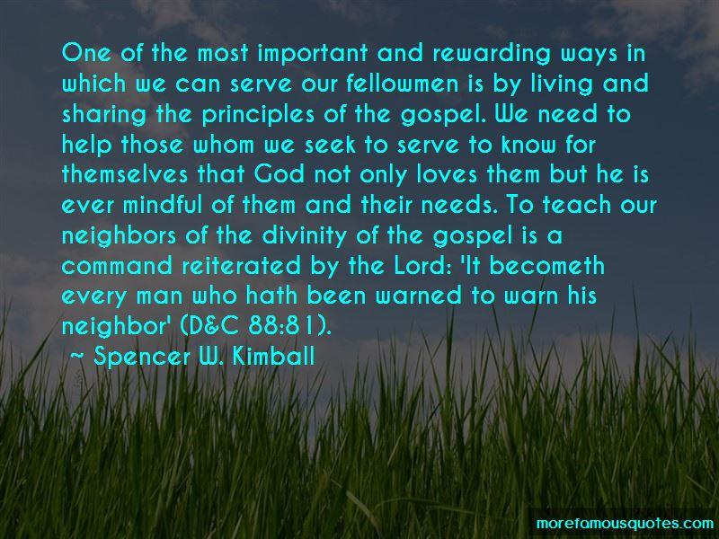 We Serve A Living God Quotes