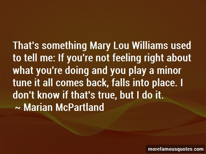 Williams Quotes