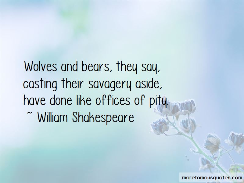 Wolves And Quotes