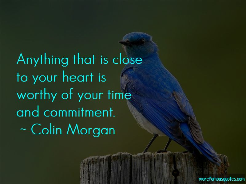 Worthy Of Your Time Quotes