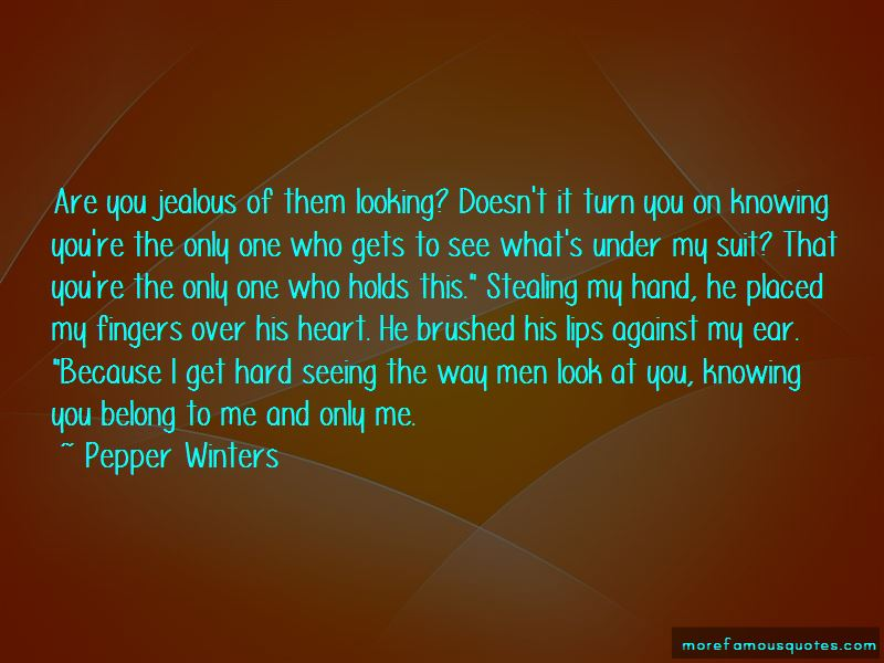 You Belong To Me Quotes Pictures 4
