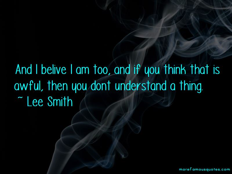 You Dont Understand Quotes