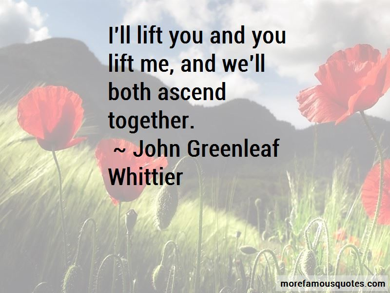 You Lift Me Quotes
