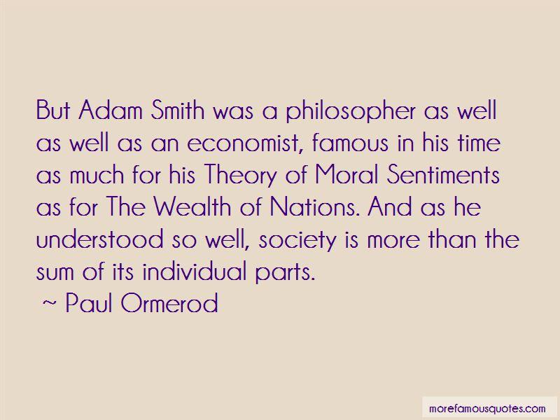 Adam Smith Economist Quotes