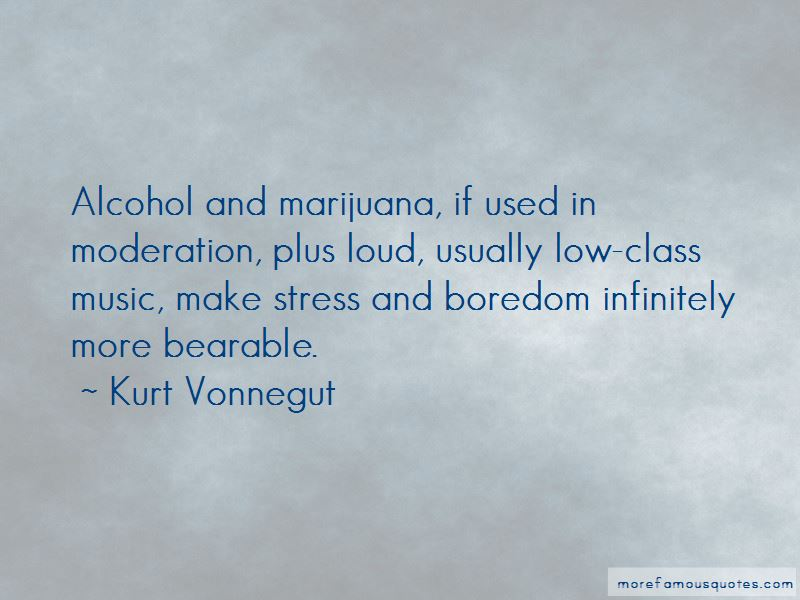 Alcohol Moderation Quotes