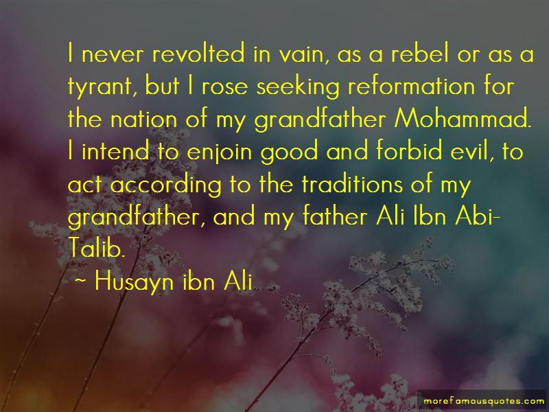Ali Talib Quotes