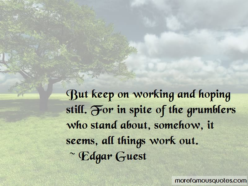 All Things Work Out Quotes