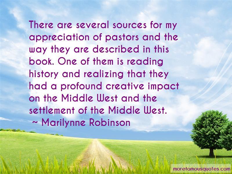 Appreciation Of Pastors Quotes