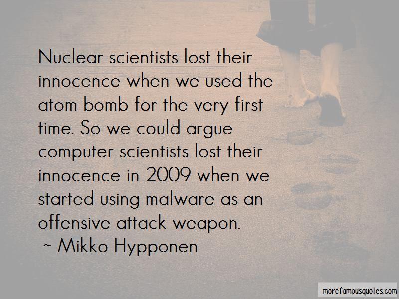 Atom Bomb Scientists Quotes