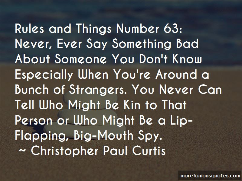 Bad Mouth Person Quotes Pictures 2