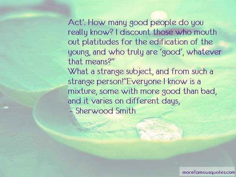 Bad Mouth Person Quotes