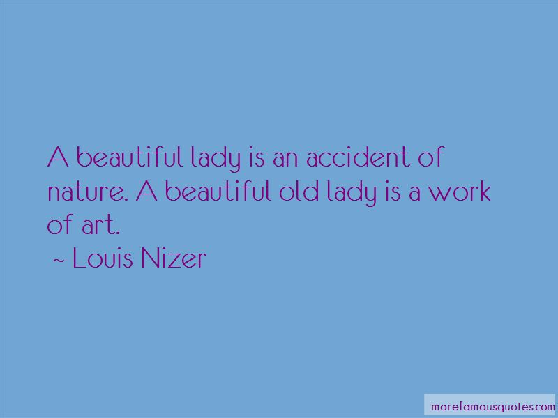 Beautiful Old Lady Quotes