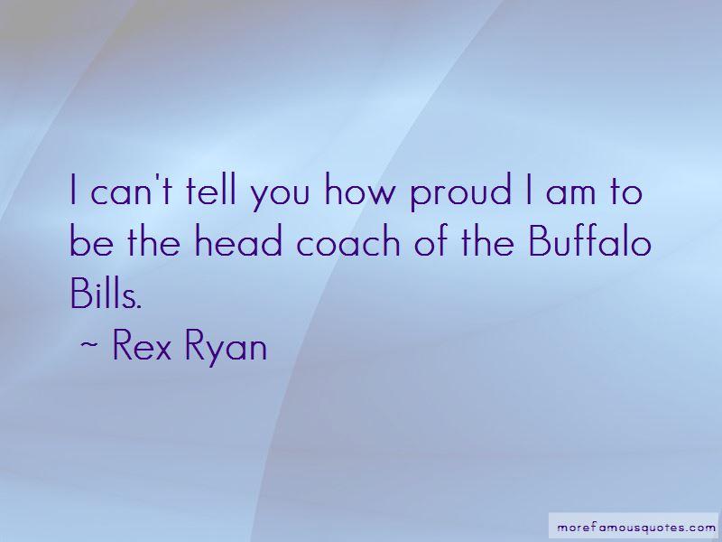 Buffalo Bills Coach Quotes