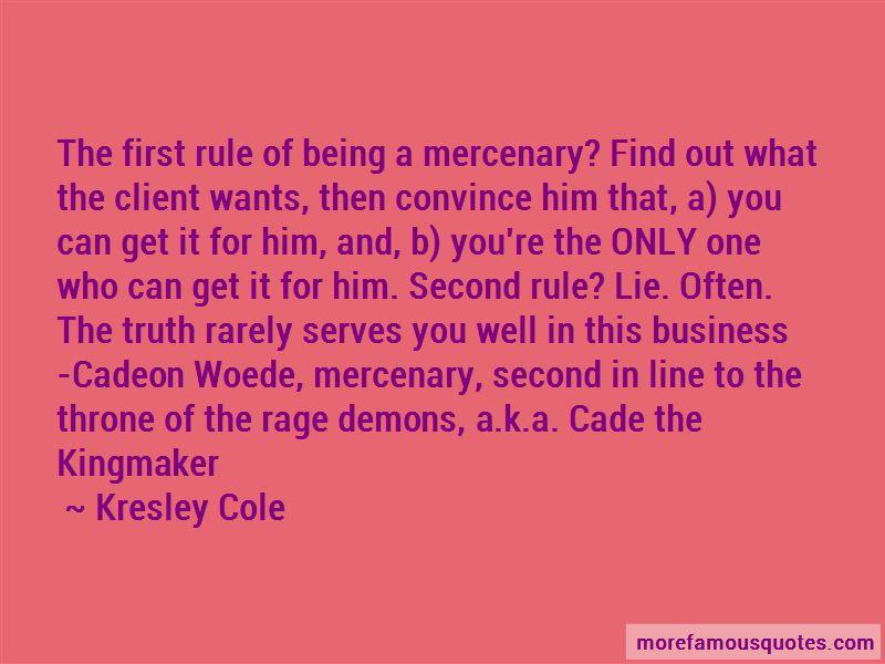 Cadeon Woede Quotes