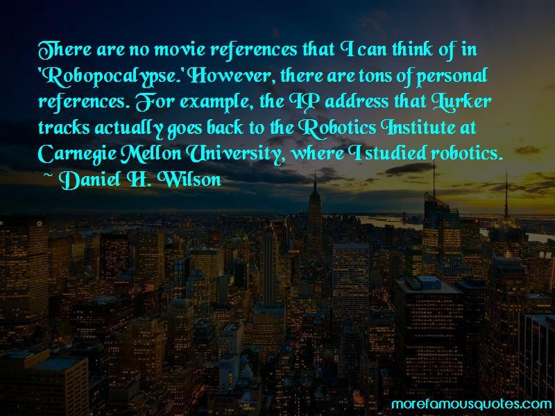 Carnegie Mellon University Quotes