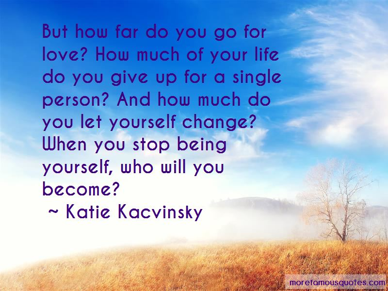 Change For The Person You Love Quotes Pictures 2