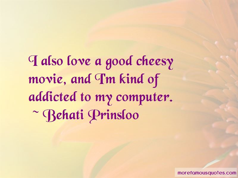 Cheesy Movie Quotes