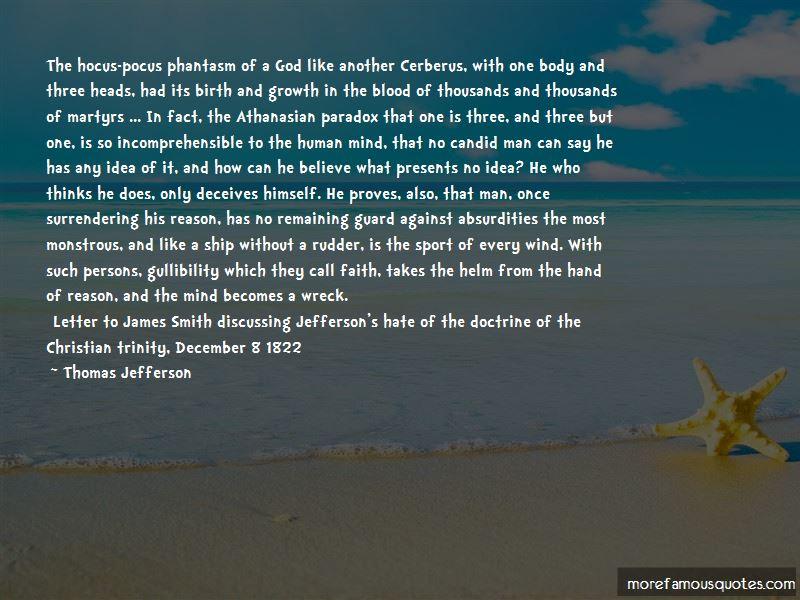 Christian Trinity Quotes