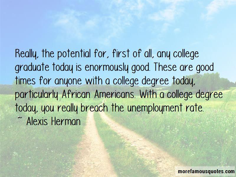 College Graduate Unemployment Quotes