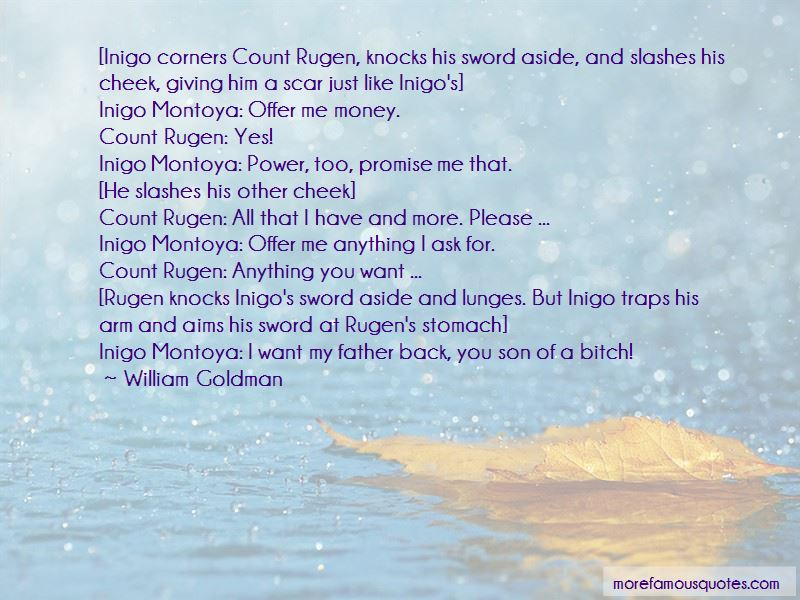 Count Rugen Quotes