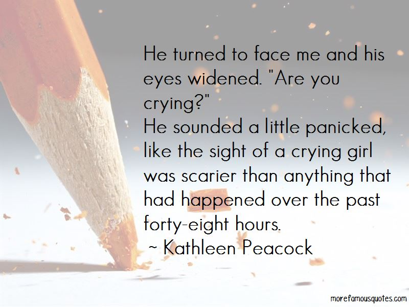 Crying Over The Past Quotes