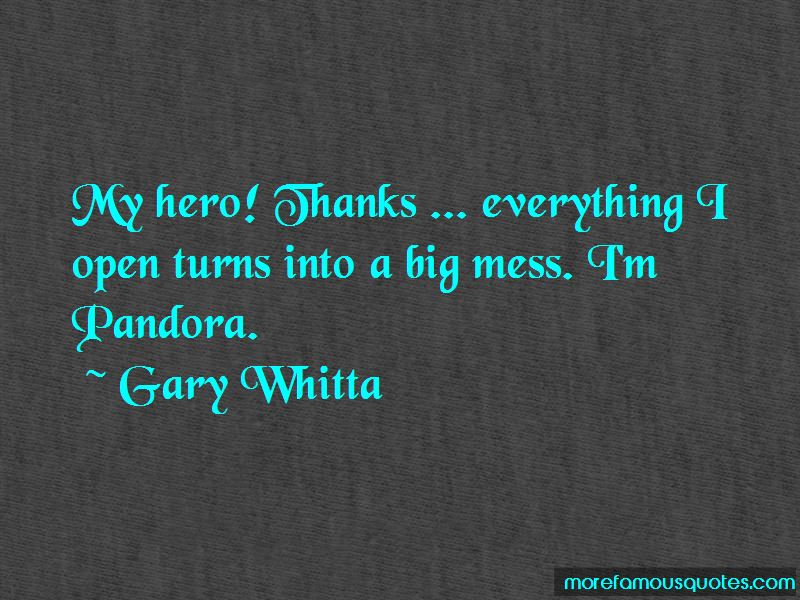 Dc Pandora Quotes