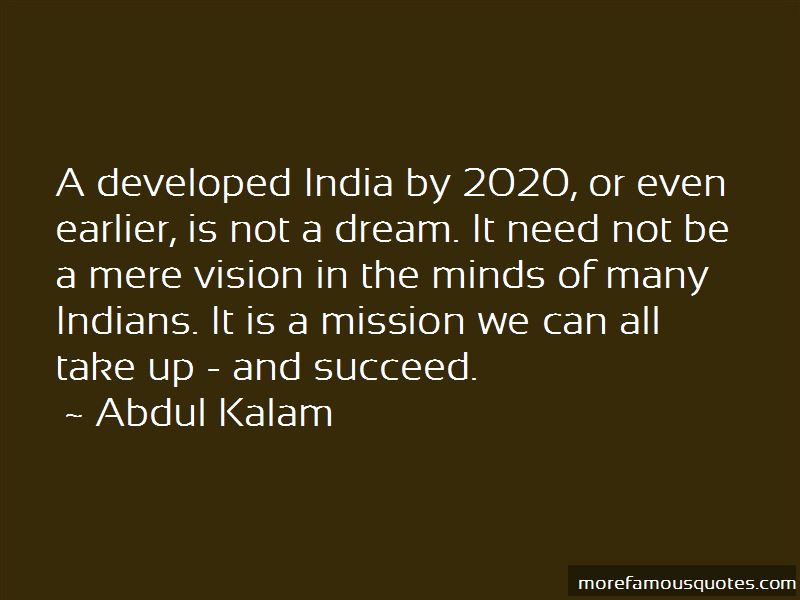 my dreams about developed india