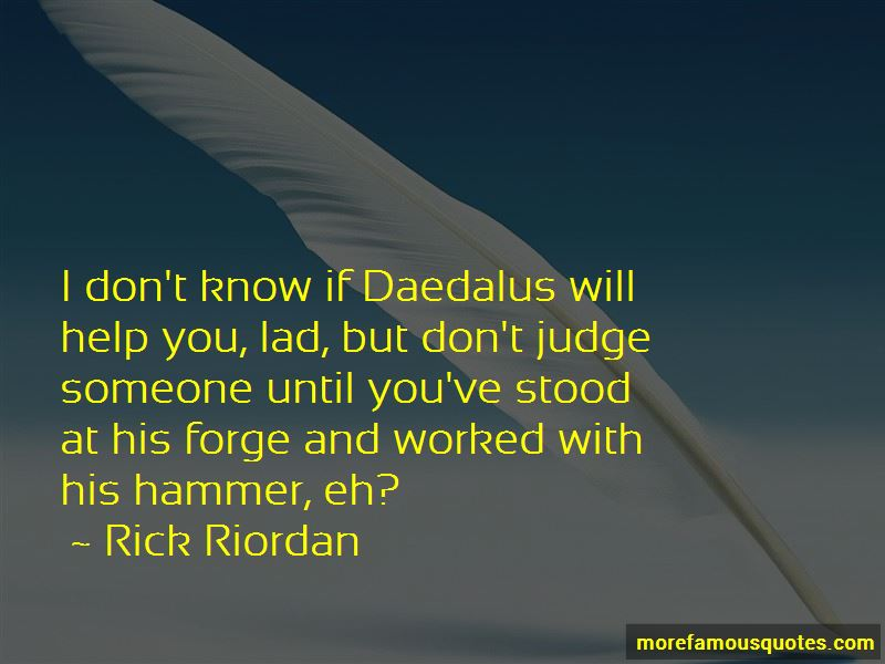 Don't Judge Someone Quotes