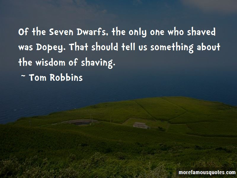 Dopey Seven Dwarfs Quotes
