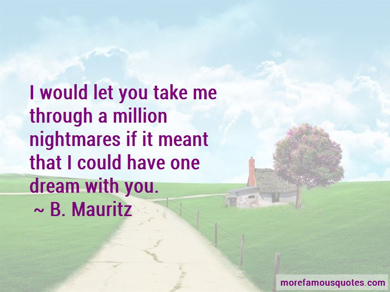 Dream With You Quotes