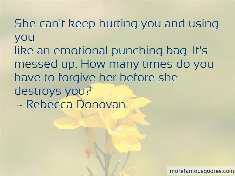 Emotional Punching Bag Quotes