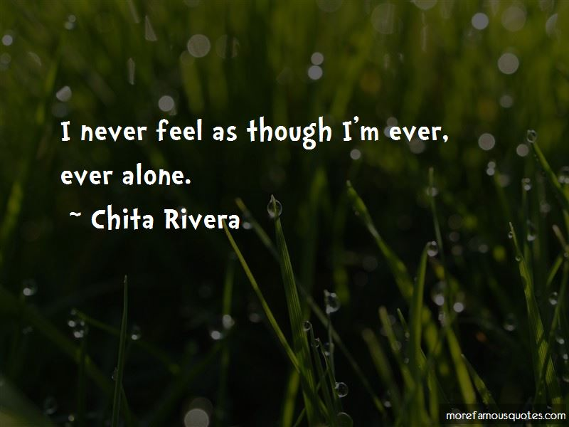 Ever Feel Alone Quotes