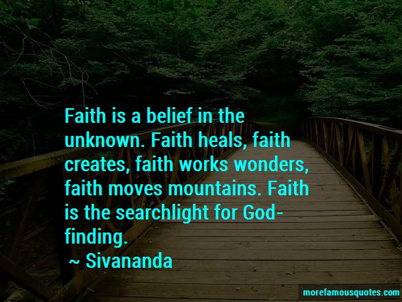 Faith Heals Quotes