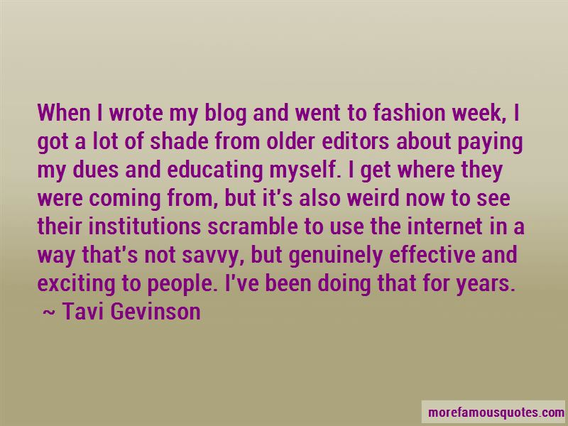 Fashion Blog Quotes
