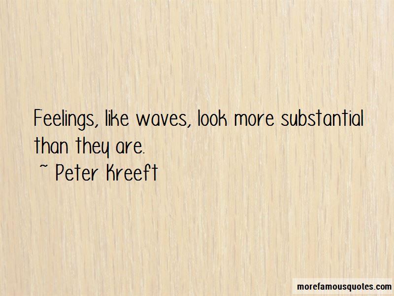 Feelings Like Waves Quotes