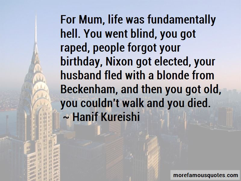 Forgot Your Birthday Quotes