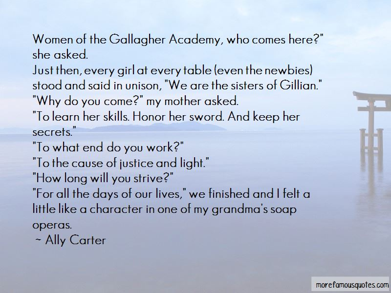 Gallagher Academy Quotes Pictures 4