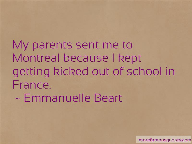 Getting Kicked Out Of School Quotes