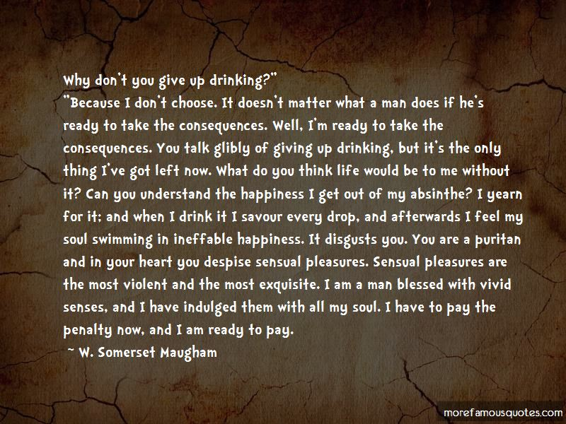 Giving Up Drinking Quotes Pictures 3