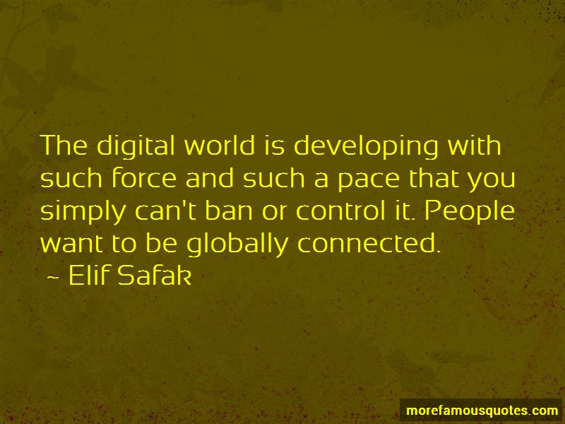 Globally Connected Quotes Pictures 3