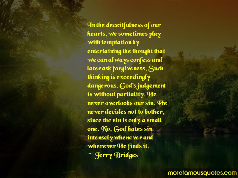 God Partiality Quotes