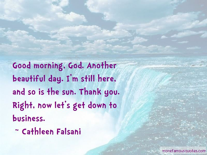 Good Morning God And Thank You Quotes