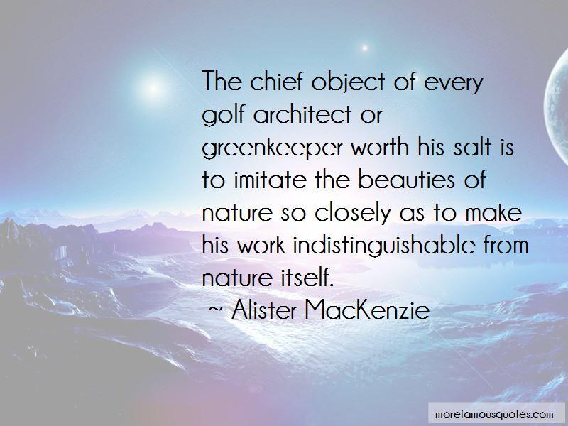 Greenkeeper Quotes