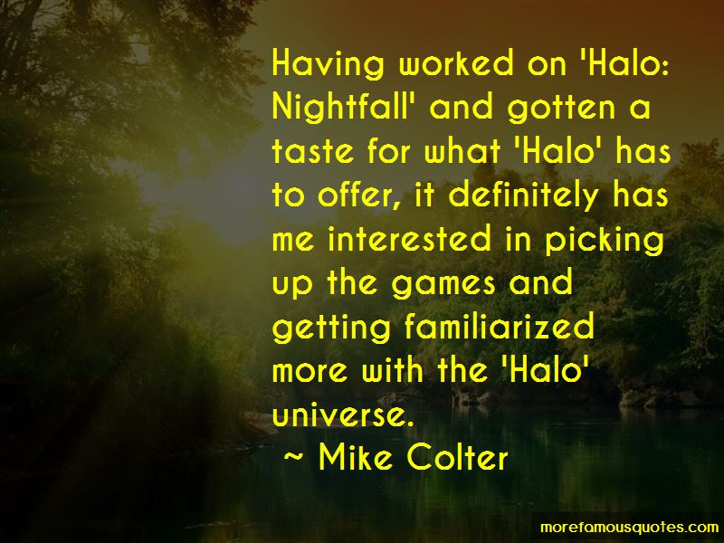 Halo Nightfall Quotes