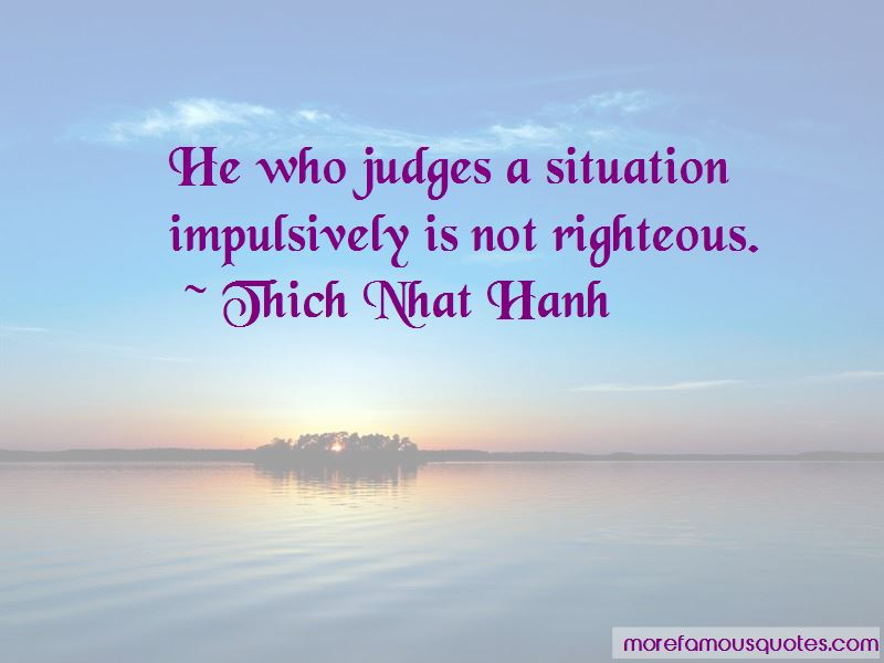 He Who Judges Quotes