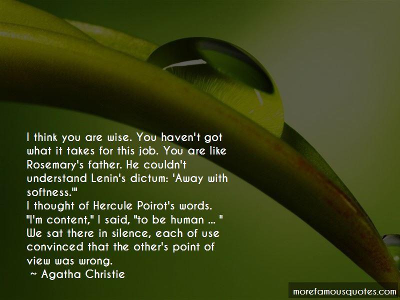 Hercule Quotes