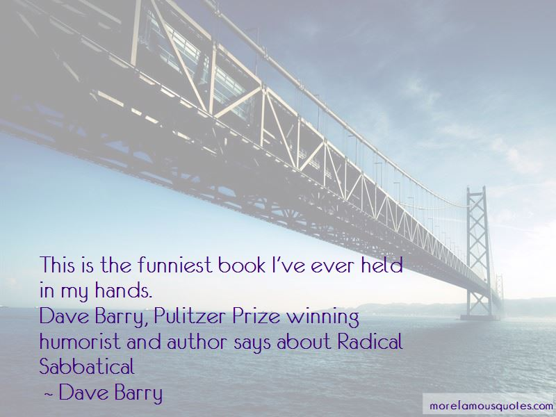 Humorist Dave Barry Quotes